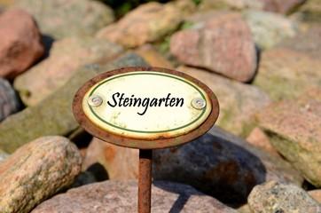 Steingarten. Licensed