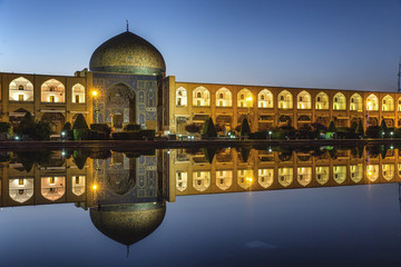 Sheikh lotf allah mosque in Isfahan Iran Wall mural