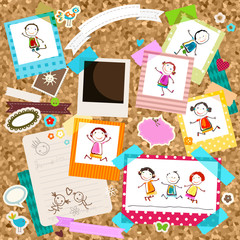 kids and photo frames