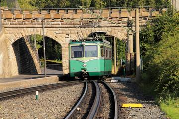Drachenfelsbahn zwischen Königswinter und Drachenfels