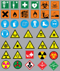 38 safety and warning laboratory labels