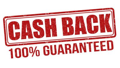 Cash back stamp