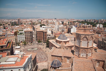 The Square Below, Valencia Cathedral, Spain