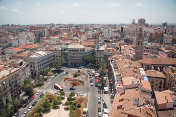 View of the City, Valencia, Spain