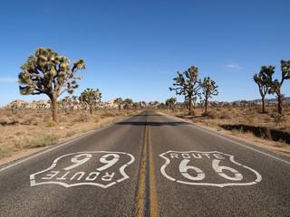 Fotobehang Route 66 Route 66 Desert