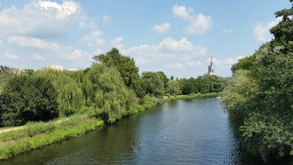 Potsdam neue Havel Fahrt