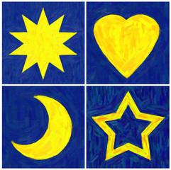 Sonne, Mond, Sterne und Liebe