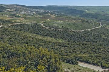 Landscape in the highlands.