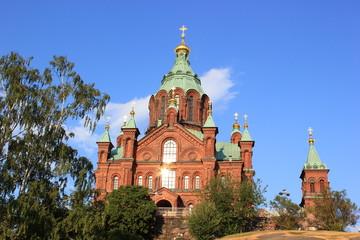 Die Uspenski-Kathedrale, Wahrzeichen von Helsinki