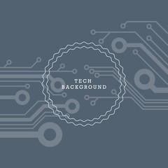 High tech abstract background vector