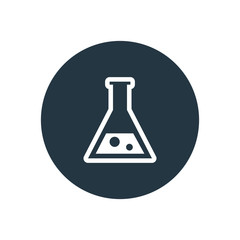 laboratory icon.