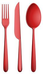 Three kitchen utensils