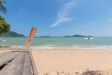 Beach of Phuket in Thailand