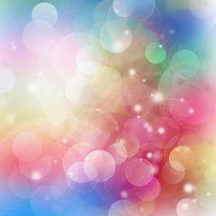 Gleaming festive birthday background