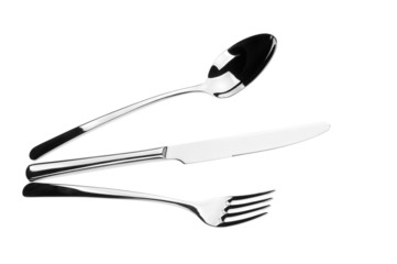 spoon fork and knife