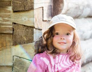 Little girl with big eyes