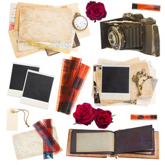 set of photo collectibles