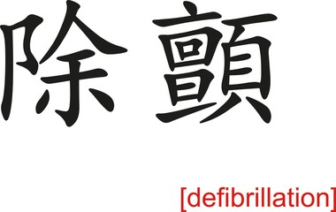 Chinese Sign for defibrillation