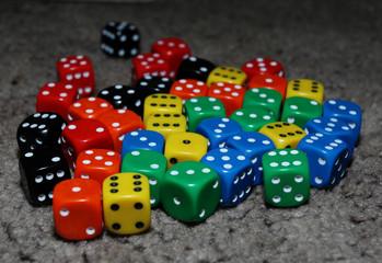 dice cubes lot