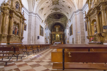 Sanctuary of de Santa María del Henar, Segovia, Spain