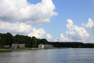 Häuser am See Mecklenburg-Vorpommern