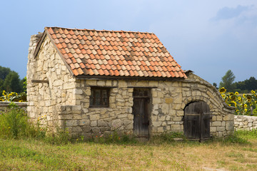 Ancient outbuilding in the south