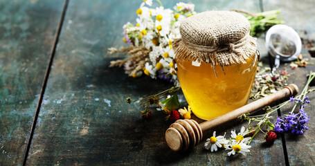 Honey and Herbal tea