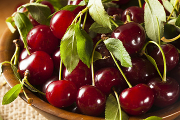 Healthy Organic Sour Cherries