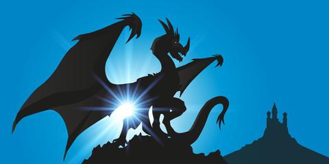 DRAGON Ciel Bleu