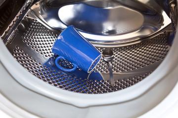 Becher Löffel Waschmaschine