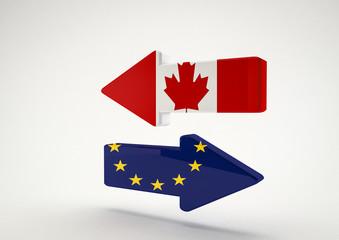 Arrows EU-Canada