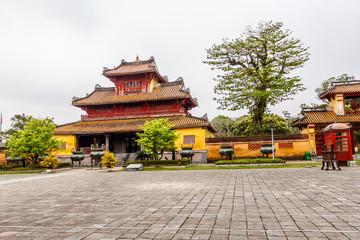 Vietnam temple at Hue city, Vietnam