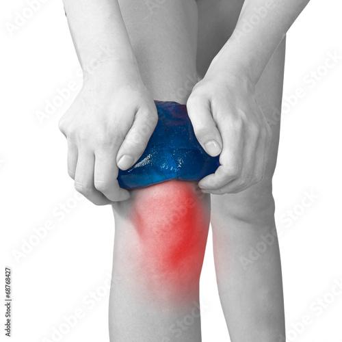 acute pijn in knie