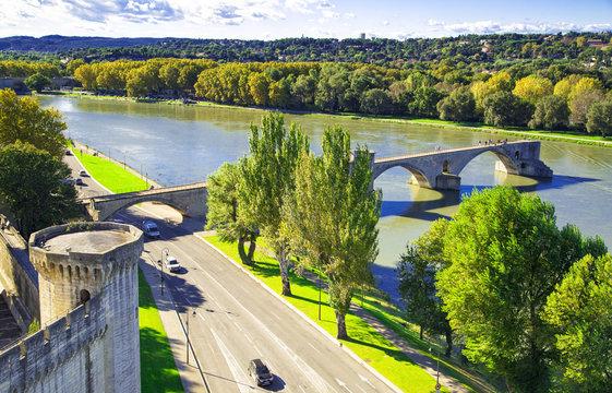 Pont Saint-Benezet in Avignon, France