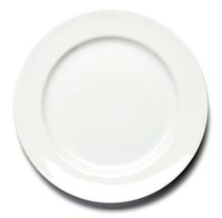 Dinner Plate on White