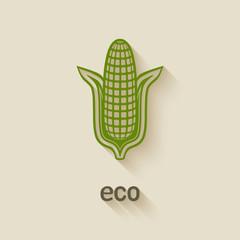 corn eco symbol