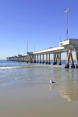 Fototapete - Pier at Venice Beach, California