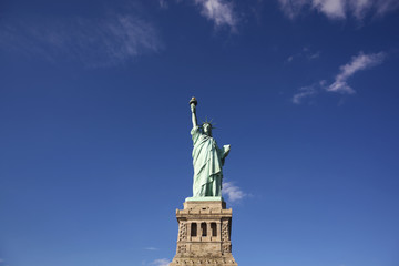 [New York]ニューヨーク・自由の女神像[Statue of Liberty]