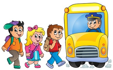 Image with school bus topic 1