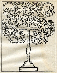 Tree of life cross (Medieval Europe)