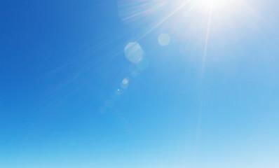 Door stickers Heaven Blue sky