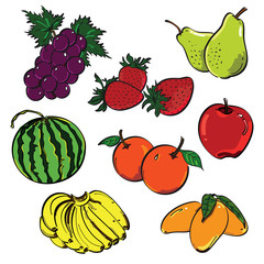 Fruit Color Set
