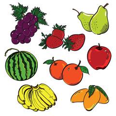 Fruit Color Set