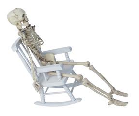 Skeleton in Rocking Chair