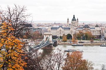Autumn at Budapest, Hungary