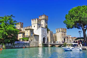 scenery of Italy series - Sirmione. Lago di Garda Wall mural