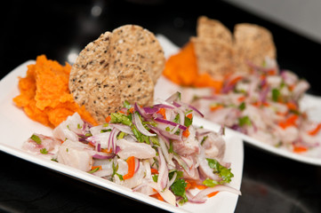 Ceviche! Delicious, hot and tasty peruvian food!