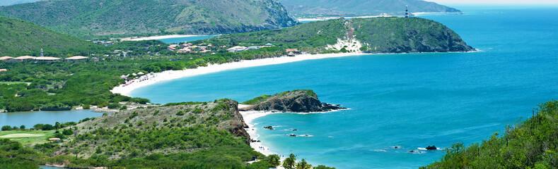 Beautiful caribbean island
