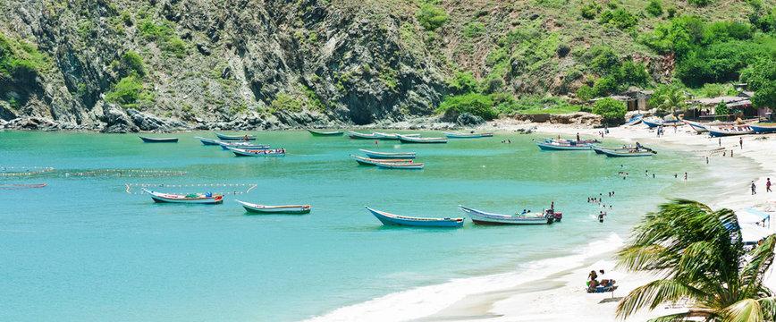 Beautiful caribbean scenery