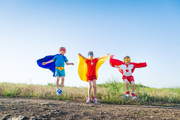 children superheros